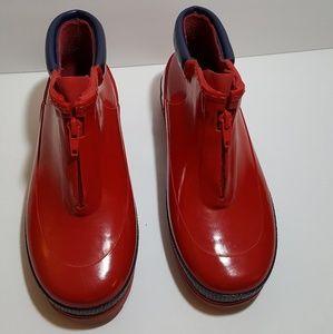 Sorel Red Rainboots